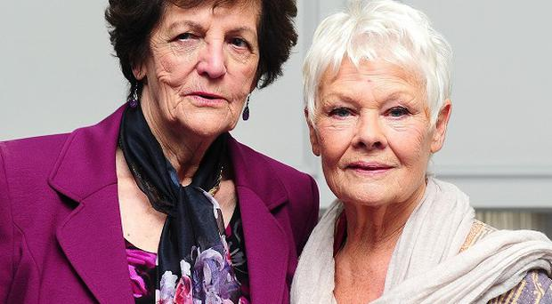 Philomena Lee is portrayed by Dame Judi Dench in the film Philomena