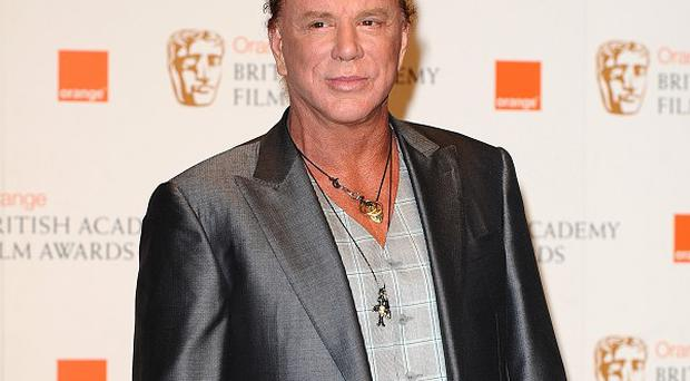 Mickey Rourke will play Gareth Thomas in The Welshman