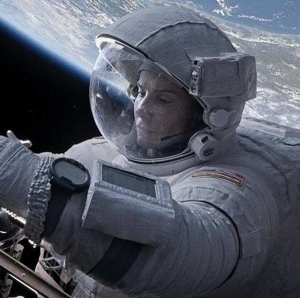 Sandra Bullock stars in Gravity, which won several Oscars