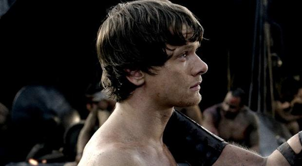Jack O'Connell and Sullivan Stapleton star in 300: Rise Of An Empire