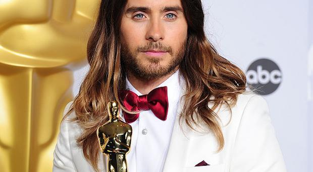 Jared Leto won the best supporting actor Oscar for his role in Dallas Buyers Club