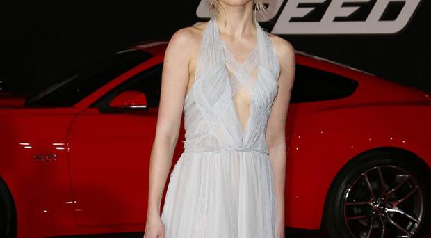Imogen Poots had to learn how to drive a car for her new film, Need For Speed (Rex)