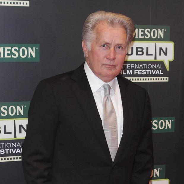 Martin Sheen has been cast in a film about Howard Hughes