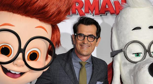 Ty Burrell voices a dog in Mr Peabody And Sherman