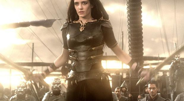 Eva Green plays Artemisia in the 300 follow-up