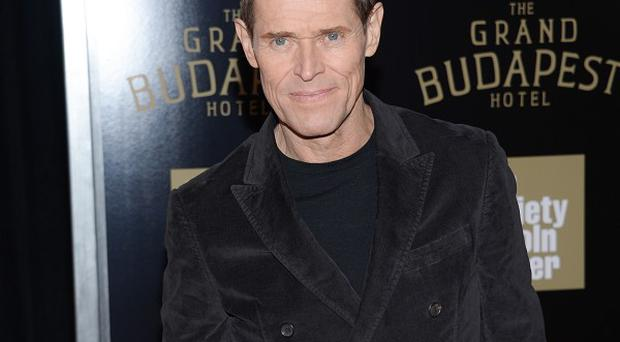 Willem Dafoe plays an evil henchman in The Grand Budapest Hotel