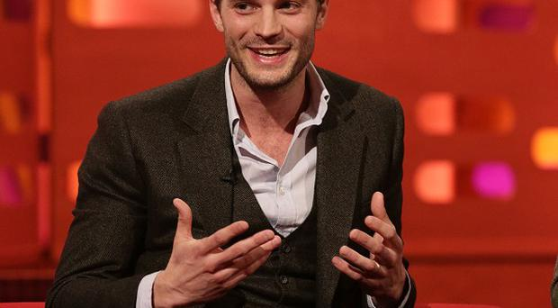 Jamie Dornan stars in Fifty Shades Of Grey
