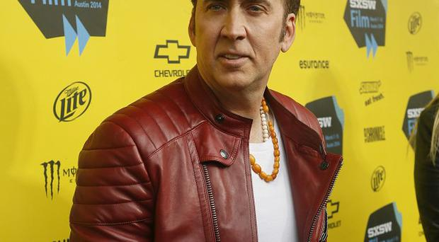 Nicolas Cage is at the SXSW Film Festival