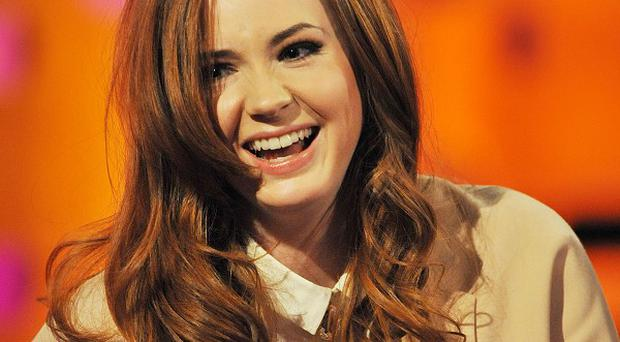 Karen Gillan stars in Guardians Of The Galaxy