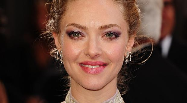 Amanda Seyfried played Cosette in Les Miserables