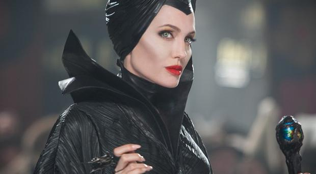Angelina Jolie has the lead role in Maleficent