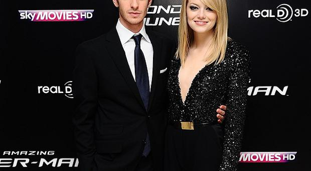 Andrew Garfield and Emma Stone star in The Amazing Spider-Man 2