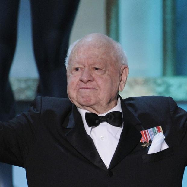 Mickey Rooney has died, aged 93. (AP)