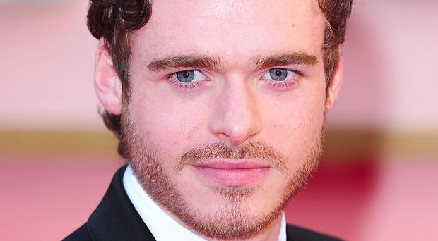 Richard Madden plays the prince in Cinderella