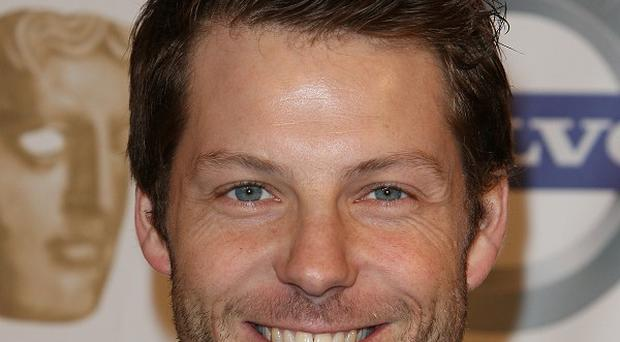 Jamie Bamber starred in the TV version of Battlestar Galactica