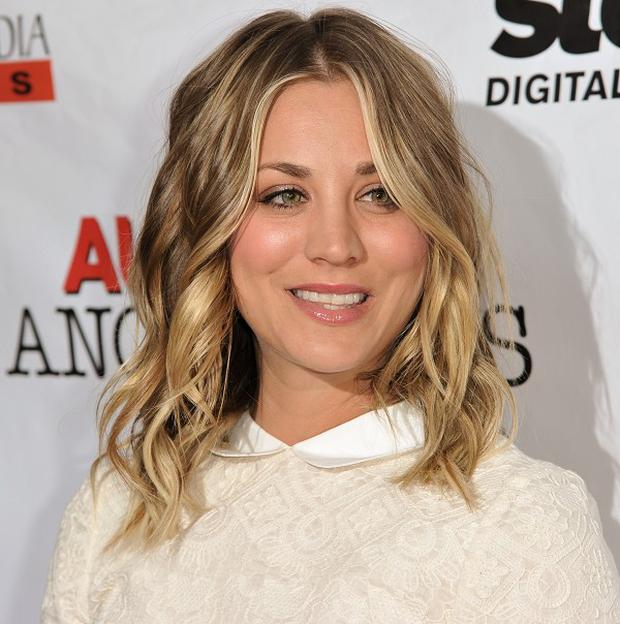 Kaley Cuoco is married to tennis player Ryan Sweeting
