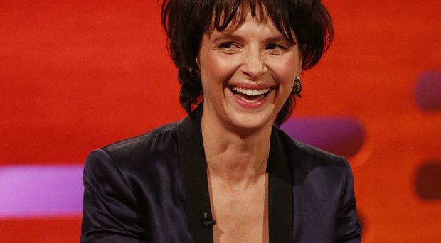 Juliette Binoche was given a replacement Oscar statuette
