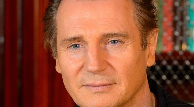 Liam Neeson has been targeted by animal rights activists