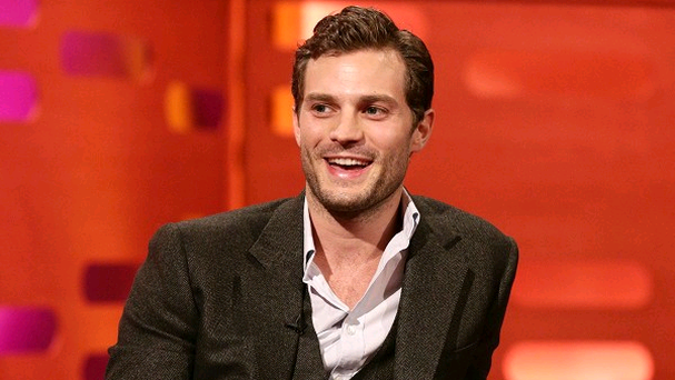 Page turner: Jamie Dornan will be in the Fifty Shades movie