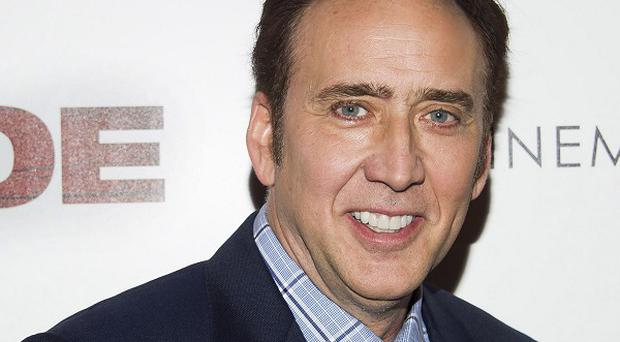 Nicolas Cage picked up a live snake in his new film Joe