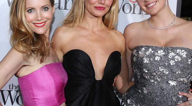 Leslie Mann, Cameron Diaz and Kate Upton star in The Other Woman