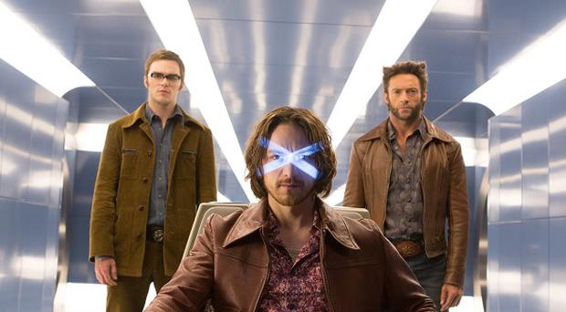 James McAvoy, Hugh Jackman and Nicholas Hoult reprise their roles in X-Men: Days Of Future Past