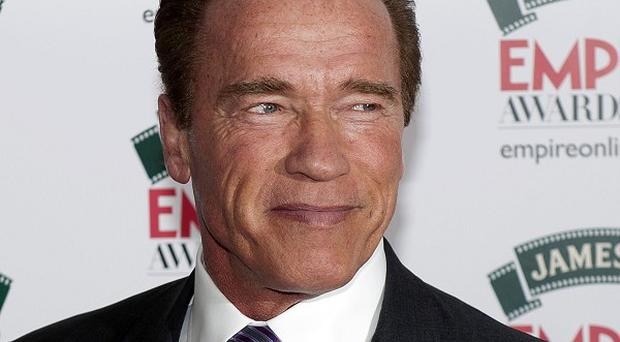 Arnold Schwarzenegger likes the weaknesses in his Sabotage character