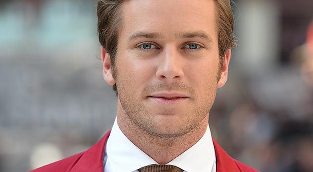 Armie Hammer is to star in psychological thriller Mine