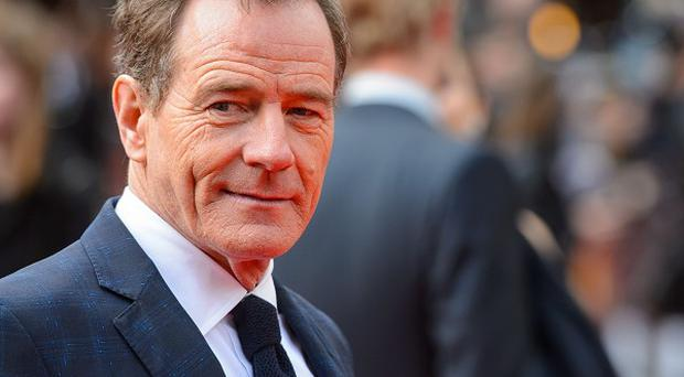 Bryan Cranston arrives for the European premiere of Godzilla, at the Odeon Leicester Square