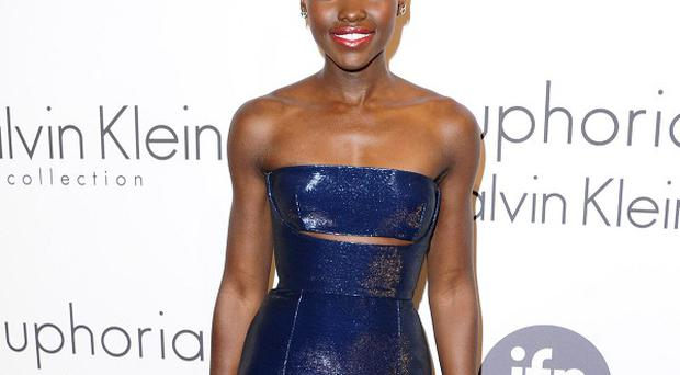 Lupita Nyong'o attended the Calvin Klein Women In Film party