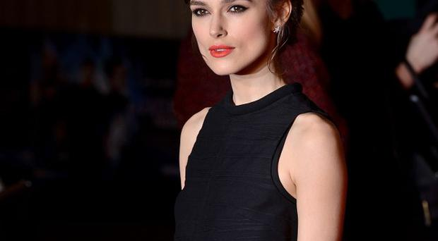 Keira Knightley says Adam Levine was a natural at acting in their upcoming film Begin Again