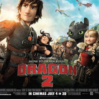 How To Train Your Dragon 2 will be in cinemas in July