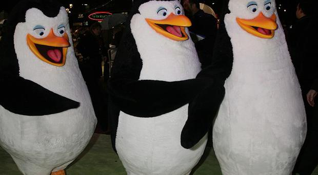 The Penguins of Madagascar are starring in their own movie