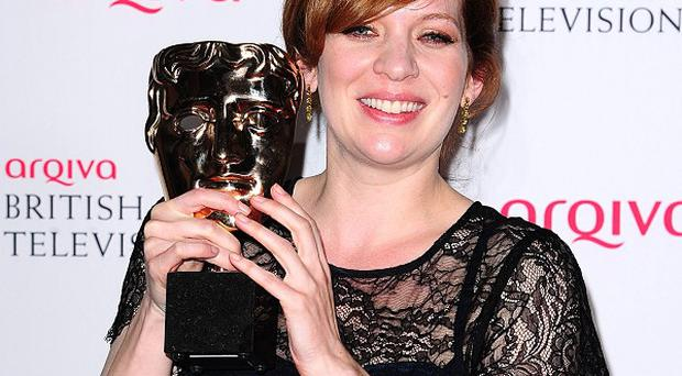 Katherine Parkinson won the Bafta for female performance in a comedy programme award for The IT Crowd