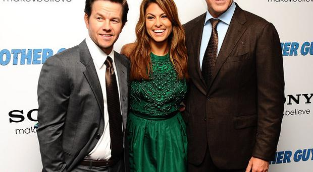 Mark Wahlberg, Eva Mendes and Will Ferrell starred in The Other Guys