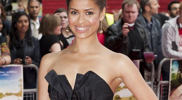 Gugu Mbatha-Raw attending the UK film premiere of Belle at the BFI Southbank, London.