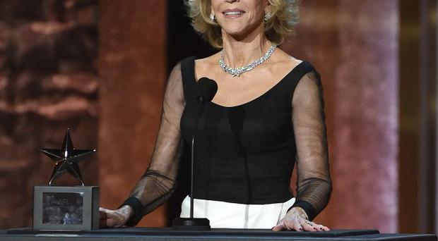 Jane Fonda was celebrated by the American Film Institute