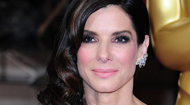 Sandra Bullock was at home as a burglar was arrested by police