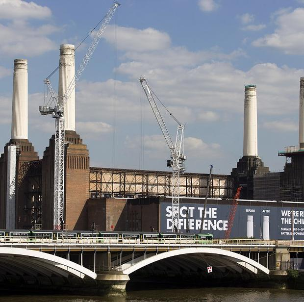 Battersea Power Station will become the venue for a pop-up cinema