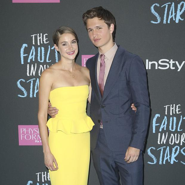 Divergent stars Ansel Elgort and Shailene Woodley reunite for drama, The Fault In Our Stars