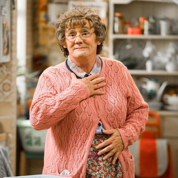 Brendan O'Carroll has made his character Agnes Brown famous in Mrs Brown's Boys