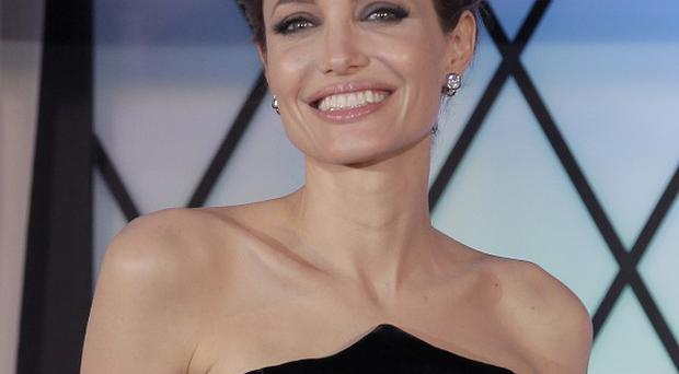 Angelina Jolie plays evil fairy Maleficent in Disney's film