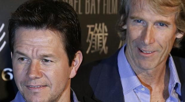 Mark Wahlberg said working with director Michael Bay was the big draw for signing up to Transformers: Age Of Extinction.