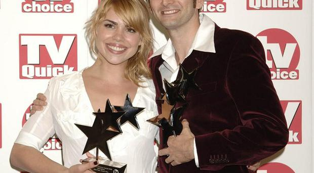 Billie Piper and David Tennant starred together in Doctor Who