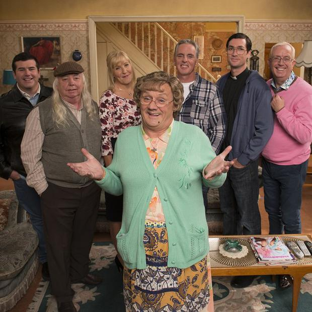 Brendan O'Carroll admits Mrs Brown's Boys is very much a family affair