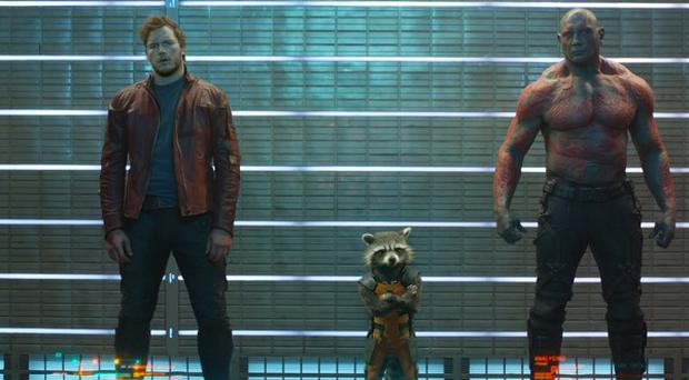 James Gunn's Guardians Of The Galaxy is due for release on August 1