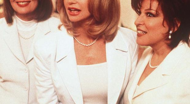 The First Wives Club movie starred Bette Midler and Diane Keaton (Paramount Pictures)