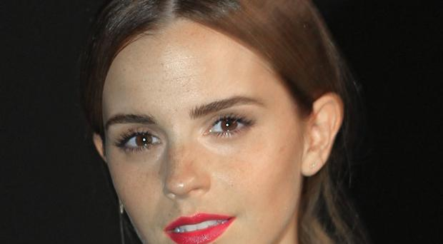 Emma Watson, pictured at a Paris fasion show, is excited to be appointed to a United Nations role (AP)