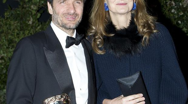 David Heyman (pictured with wife Rose Uniacke) is going to produce religious drama Zealot