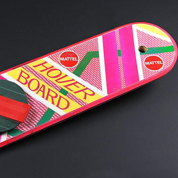 Marty McFly's hoverboard will be on display at the exhibition in London in October